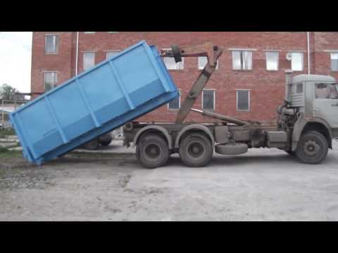Заказ контейнера под строительный мусор