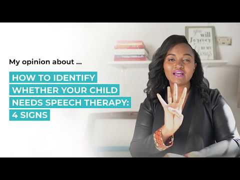 How to Identify Whether Your Child Needs Speech Therapy
