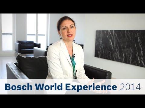 Bosch World Experience 2014 - 3 questions about: Robert Bosch Foundation