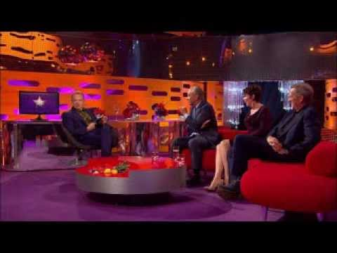 Alan Sugar takes over Graham Norton's big red chair