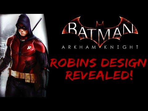 Batman Arkham Knight Robin Design Revealed - YouTube