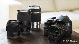 Sony α3000, первая псевдозеркальная камера. Обзор