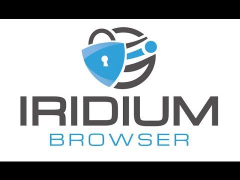 Iridium - Un navigateur respectueux de votre vie privée