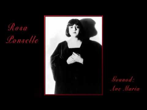 Rosa Ponselle - Ave Maria / Bach / Gounod 1926
