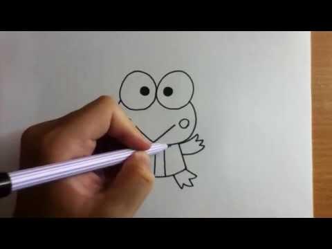 สอนวาดรูป การ์ตูน กบ เคโระ