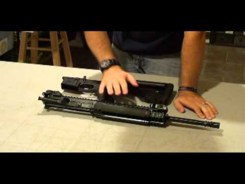 LWRC M6 A2 & A3 rifles breakdown from manufacturer