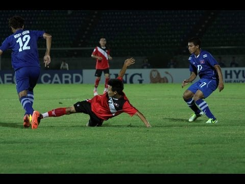 FULL MATCH: Laos vs. Cambodia - AFF Suzuki Cup 2012 (Qualifying Round)