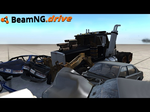 BeamNG.drive - THE MAD RIG