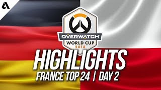 Germany vs Poland | Overwatch World Cup 2018 Paris Qualifier Day 2