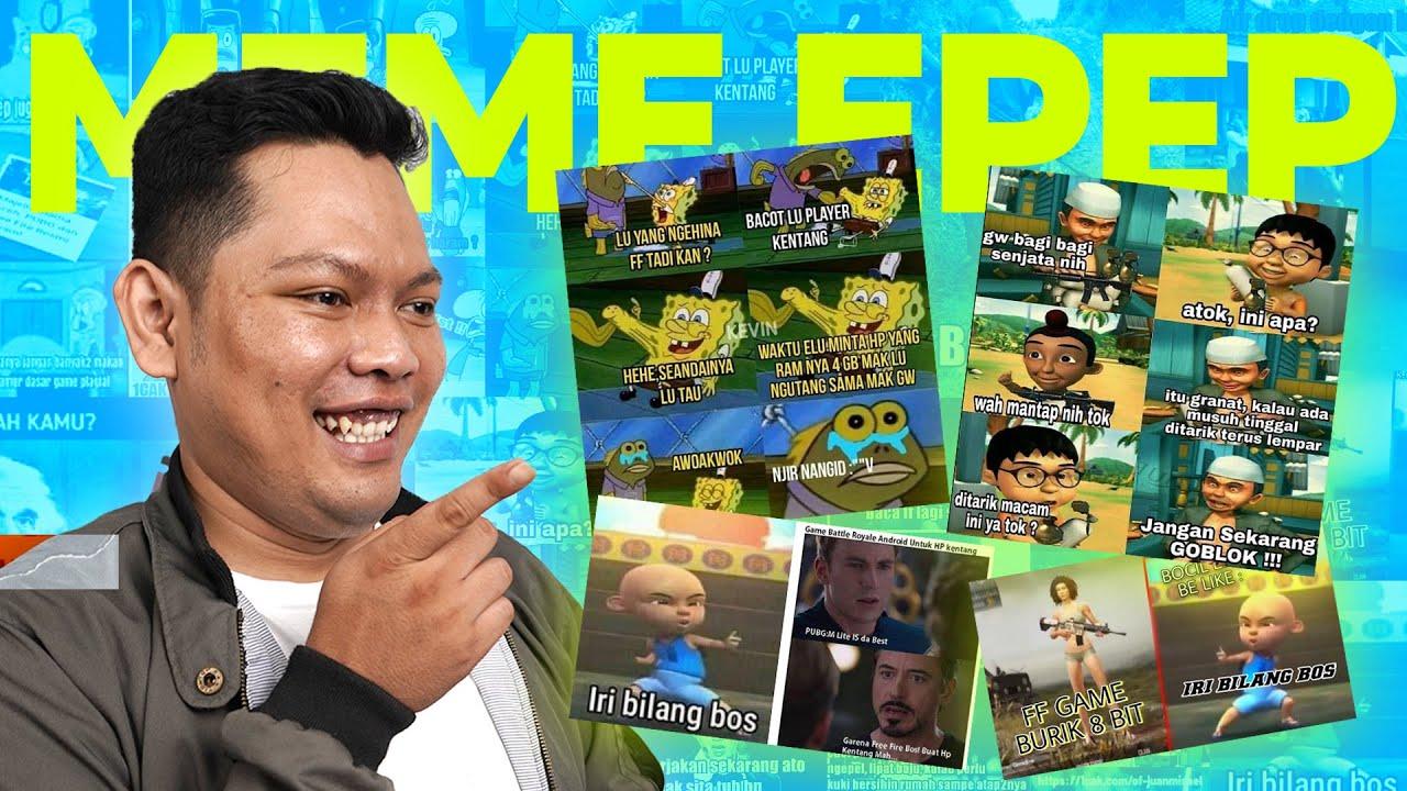 MEME KOCAK GAME FREE FIRE BIKIN NGAKAK!!