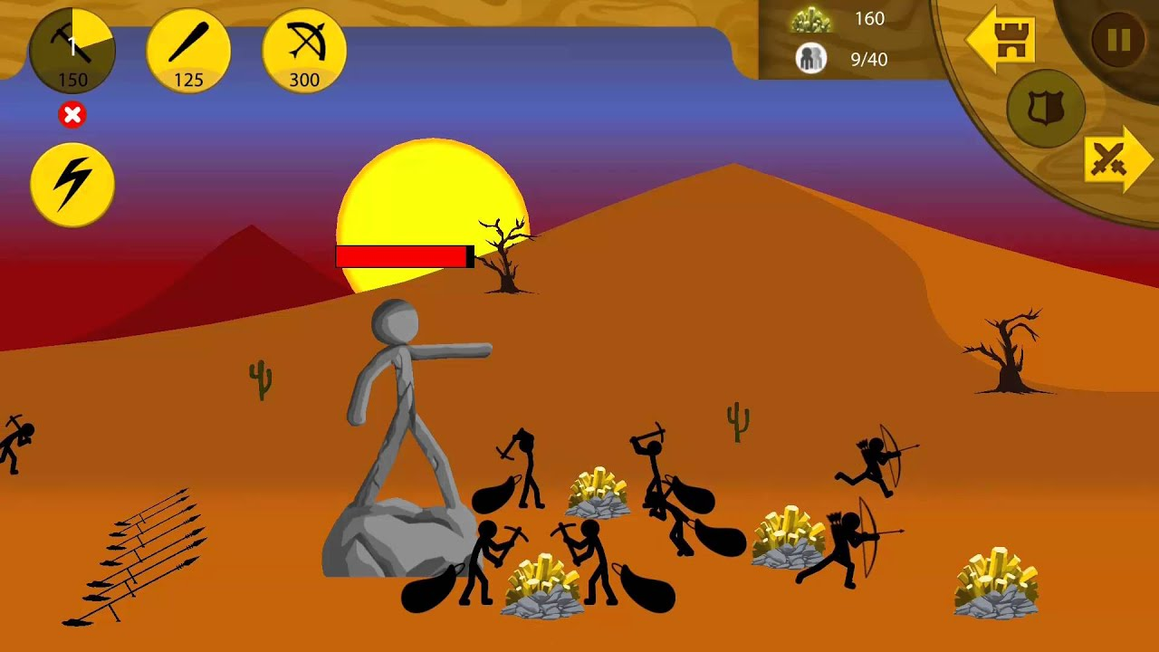 Stickman War Games