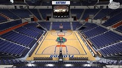 Exactech Arena at the Stephen C. O'Connell Center: Basketball Teams' Excitement