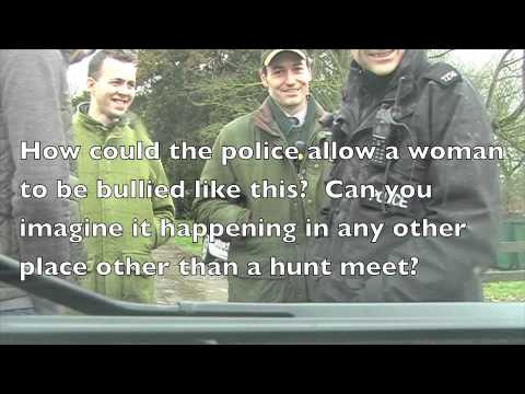 Aren't Our Police Wonderful - Especially At Hunt Meets?