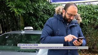 Sécurité routière : l'impact de la limitation à 80km/h sur les professionnels