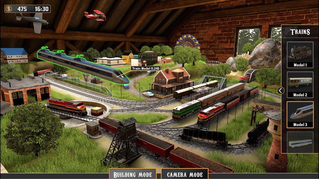 Build Train Models in 'Train Yard Builder'