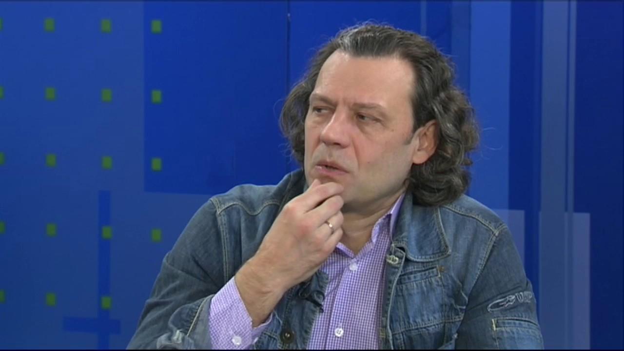 Игорь Калагин в гостях у телеканала Первый Мытищинский