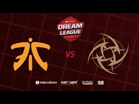 NiP vs Fnatic - DreamLeague Season 11 - Game 2