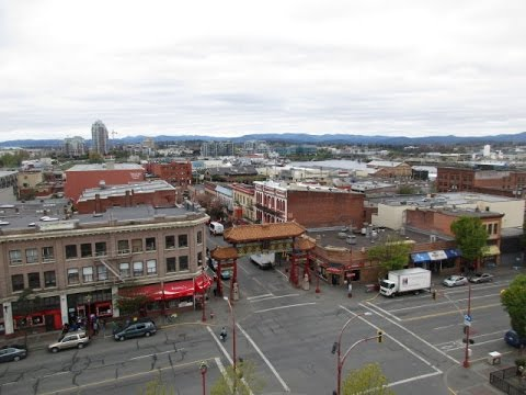 Chinatown in Victoria, B.C.