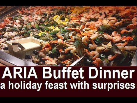 Best Vegas Buffet on the Strip?  Aria Buffet Review Dinner on holidays from top-buffet.com