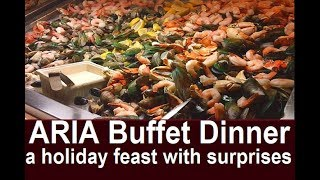 Best Vegas Buffet on the Strip?  Aria Buffet Review Dinner on holidays from top-buffet.com