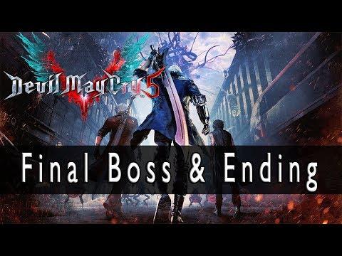 Devil May Cry 5 Final Boss Battle & Ending