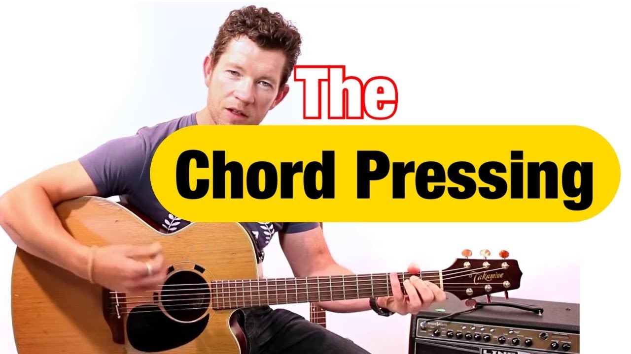 How to Change Chords Quickly on Guitar using the 'Pressing ...