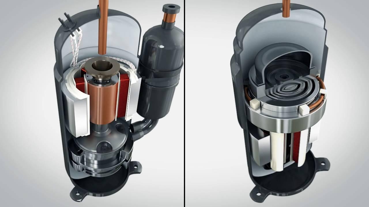 Toshiba Twin Rotary Compressor