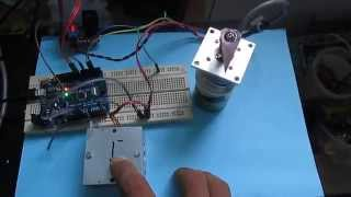 DC Motor Position PID Control by Arduino