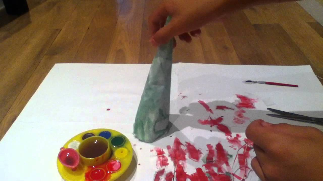 Fabriquer un sapin de no l bricolage enfants youtube - Fabriquer sapin de noel ...