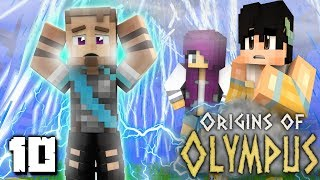 Origins of Olympus: THE SON OF ZEUS! (Percy Jackson Minecraft Roleplay SMP)
