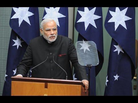 PM Narendra Modi speech on Address to Australian Parliament | PMO