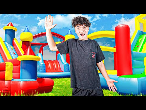 Last To Get Caught in Bounce House Wins $10,000 (FaZe House)