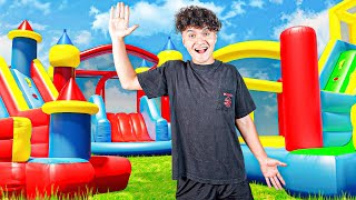 Last To Get Caught in Bounce House Wins $10,000 Challenge