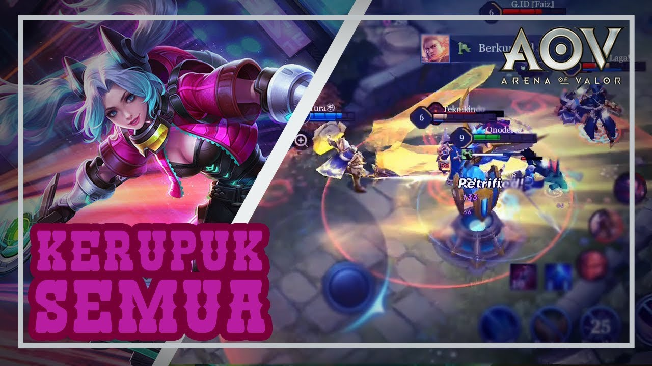 Butterfly Best Build Thane Musuh Rasa Kerupuk Arena Of Valor Aov Indonesia