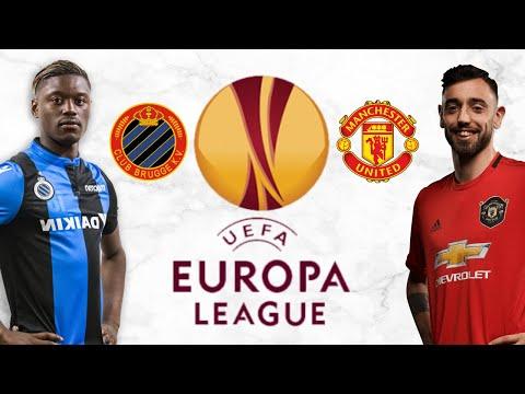 Club Brugge v Man United Europa League 1st Leg FIFA 20 Score Prediction