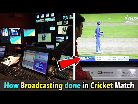 How Real Time Live Broadcasting Done In International World Cup Cricket Match