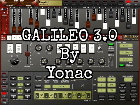 GALILEO 3.0 by Yonac - Update Demo & MIDI Learn Tutorial for the iPad