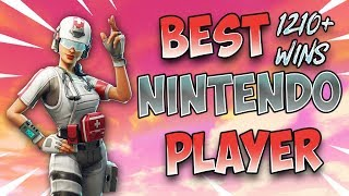 Fortnite Best Nintendo Switch Player 1210+ Wins!! Solos/New Update!
