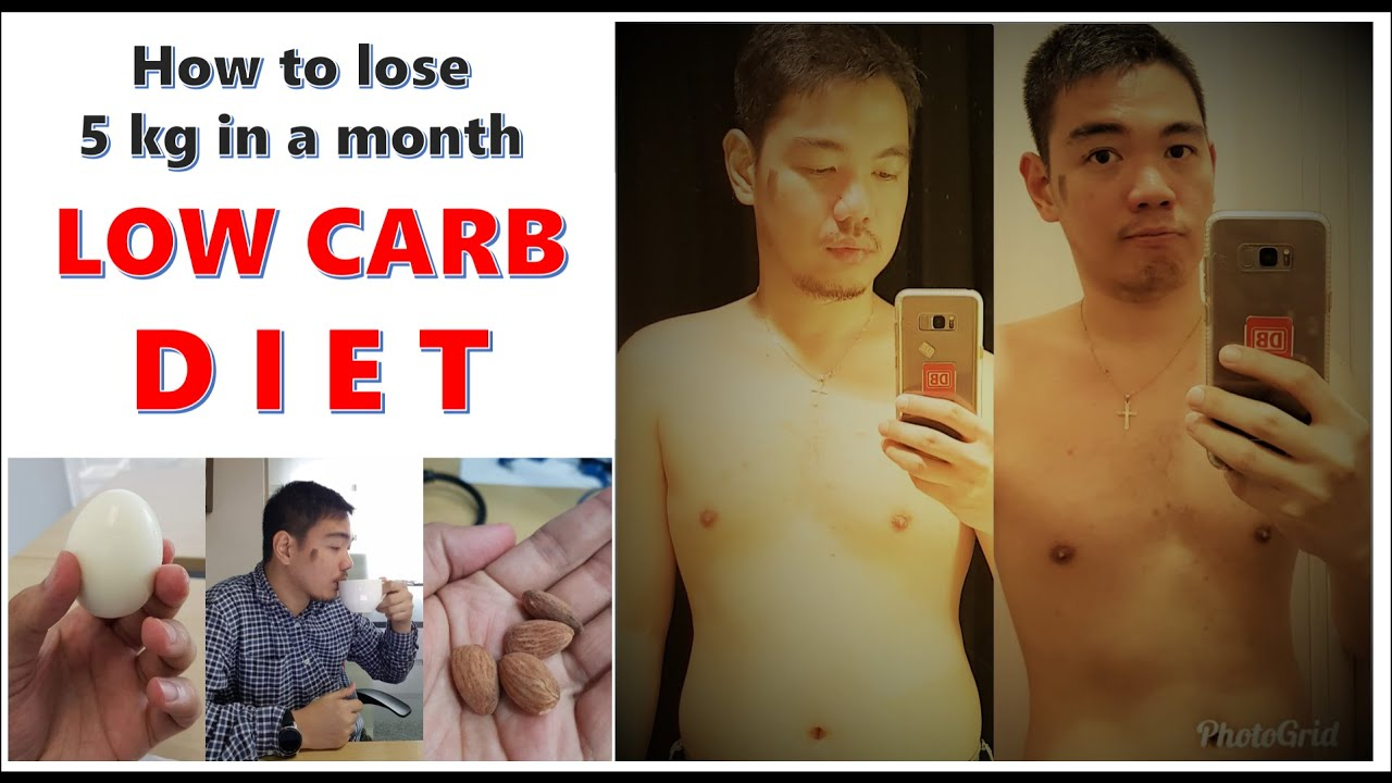 How to lose 5 kg in 1 month: Episode 1: Low Carb Diet ...