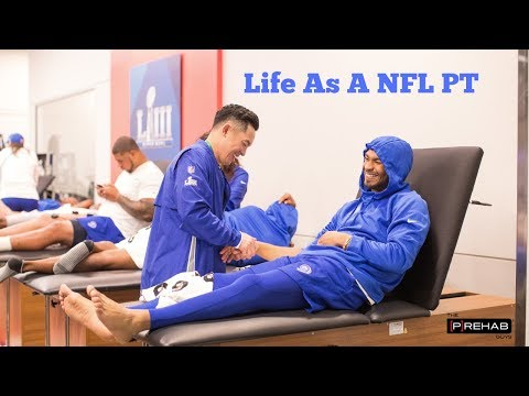 "Q&A with Los Angeles Rams Physical Therapist - ""Life As A NFL PT"""