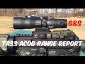 TA33 ACOG range report