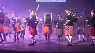 Оркестр кельтских волынок и барабанов в Хабаровске
