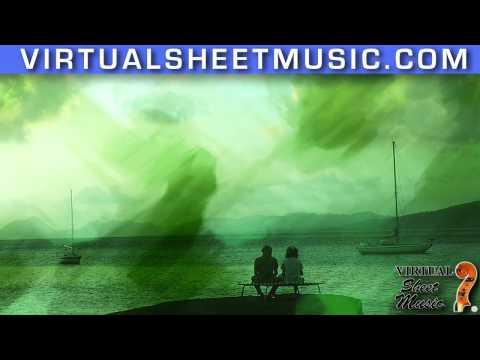 Claire de Lune for piano solo by Debussy (fantasy video)