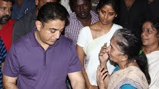 Kamal Haasan pays his last respects to Balu Mahendra