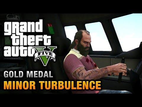 GTA 5 - Mission #47 - Minor Turbulence [100% Gold Medal Walkthrough]