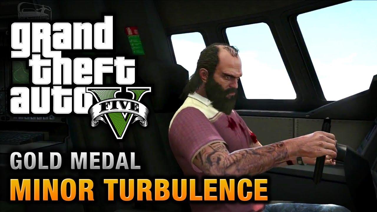 Gta  Minor Turbulence  Gold Medal Walkthrough Youtube