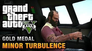 GTA 5 - Mission #47 - Minor Turbulence [100% Gold Medal Walkthrough]