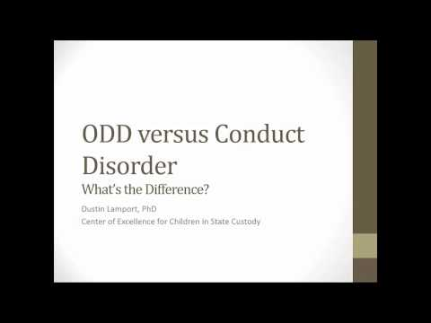 ODD vs. Conduct Disorder: What's the Difference?
