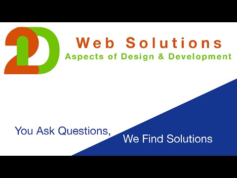 2D Web Solutions - Episode 1