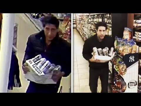 Cops Hunt for Robber Who Looks Just Like 'Friends' Star David Schwimmer